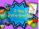 I-Spy CVCe Question Building - Assorted Vowels (September