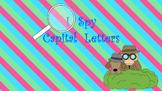 I Spy Capital Letters