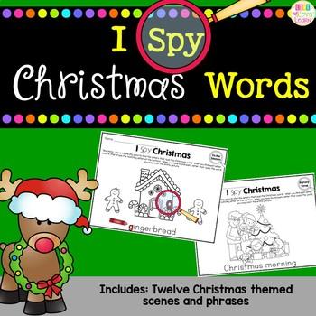 I Spy - Christmas Words