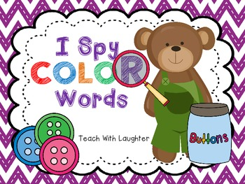 I Spy Color Words
