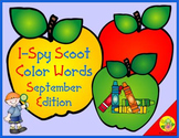 I-Spy Color Words Scoot (September Edition)
