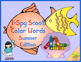 I-Spy Color Words Scoot (Summer Edition)