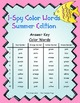 I-Spy Color Words (Summer Edition) Basic