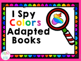 I Spy Colors Adapted Books
