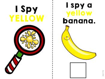 I Spy Colors Adapted Books