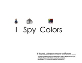 I Spy Colors: An Adapted Book