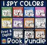 I Spy Colors Growing Bundle! Interactive Books about Color