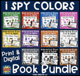 I Spy Colors Book Bundle! Print & Digital Interactive Books