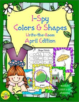 I-Spy Colors and Shapes (April Edition)