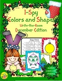 I-Spy Colors and Shapes (December Edition)