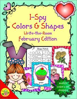 I-Spy Colors and Shapes (February Edition)