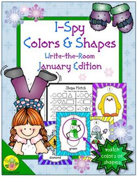 I-Spy Colors and Shapes (January Edition)