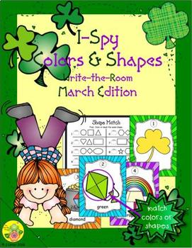 I-Spy Colors and Shapes (March Edition)