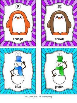 I-Spy Colors and Shapes Winter Bundle