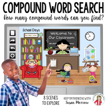 Compound Words Fun: I Spy Compound Words!