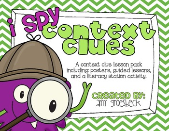 I Spy Context Clues