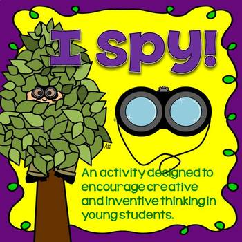 Creative Thinking Activity for Younger Students - Great for Early Finishers!