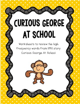 I Spy - Curious George At School