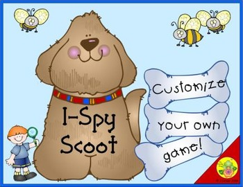 I-Spy Customize Your Own Game: Scoot