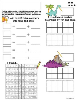 I Spy Decomposing Numbers with Equations | Common Core | Kindergarten