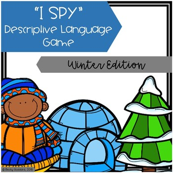 """I Spy"" Descriptive Language Game - Winter Edition"