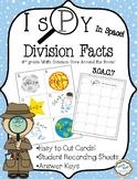 I Spy Division in Space 3.OA.C.7 3rd Grade Math CCSS Aroun