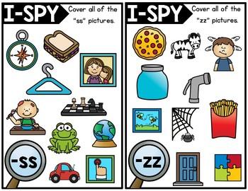 I-Spy Double Consonants