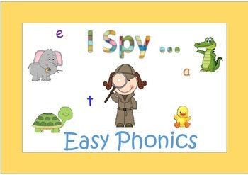 I Spy  Easy Phonics