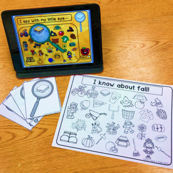 I Spy Fall for Mixed Groups (Language Processing & Phonological Awareness)