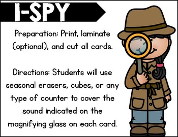 I-Spy Final Blends