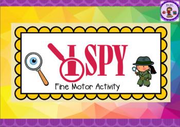 I Spy Fine Motor Activity