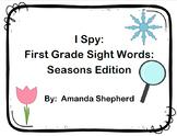 I Spy First Grade Sight Words Season Pack