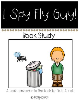 I Spy Fly Guy Book Companion