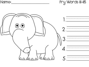 I Spy Fry Words 101-200