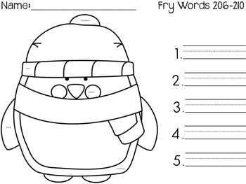 I Spy Fry Words 201-300