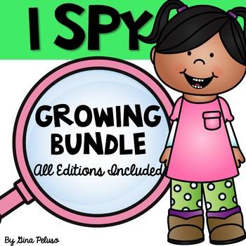I Spy GROWING BUNDLE