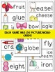 I Spy Game Long Vowels and Short Vowels Bundle