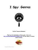 I Spy: Genres!