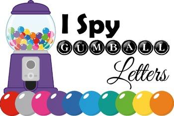 I Spy Gumball Letters (Alphabet)