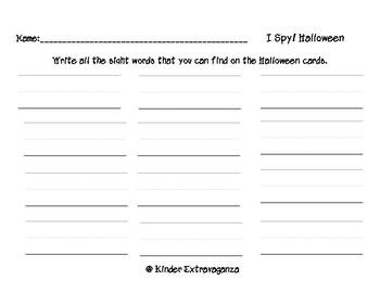 I Spy Halloween!