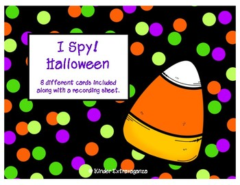 I Spy! Halloween