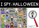 I Spy: Halloween BOOM Cards (distance learning)