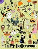 I Spy Halloween Game