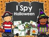 I Spy Halloween Words