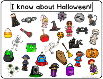 I Spy Halloween for Mixed Groups (Language Processing & Phonological Awareness)