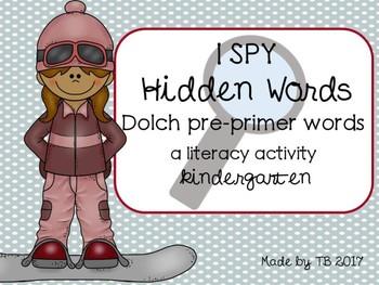 I Spy Hidden Words