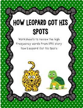 I Spy How Leopard Got His Spots