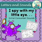 I-Spy Initial Consonant Sounds Distance Learning