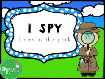 I Spy - Items in the Park