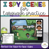 I Spy Language Activity Scenes for Classroom and Distance